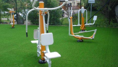 kültéri fitnesz park tervezés