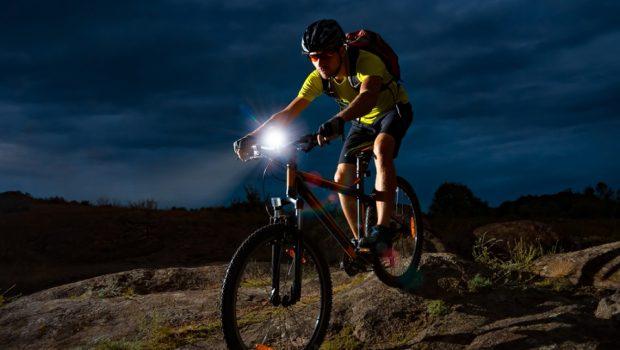 kerékpár lámpa szett